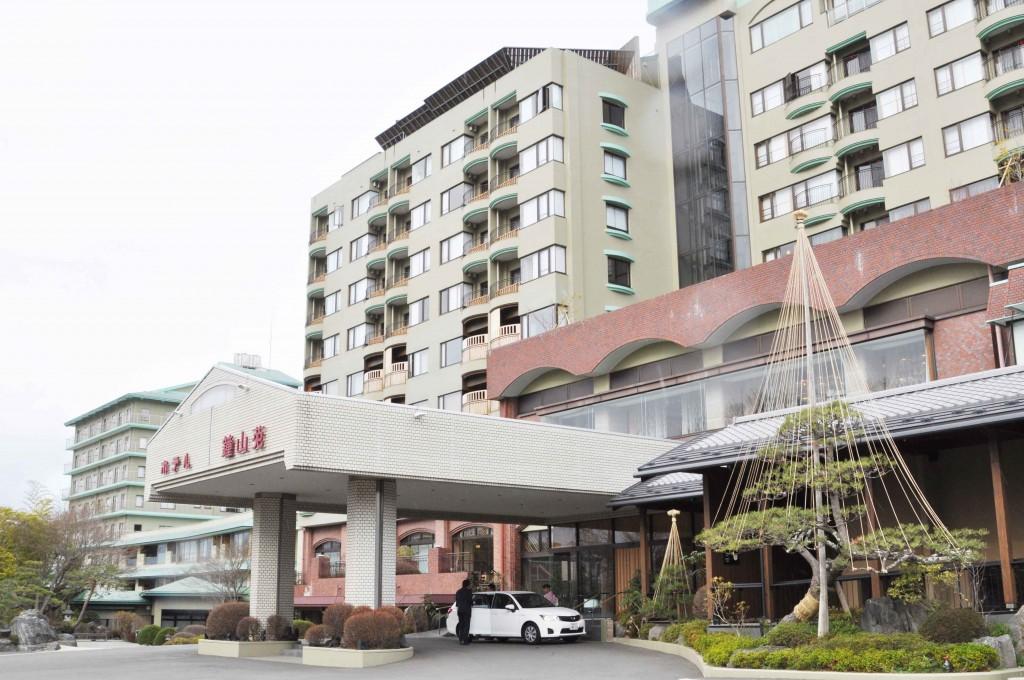富士山が見える温泉旅館「鐘山苑」。新幹線三島駅より専用シャトルバス有り