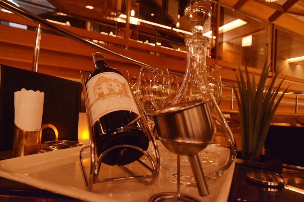 1本8万円(?)するワイン